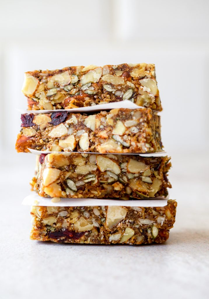 No Bake Nut Bars