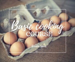 Basic cooking course @ Wooden spoon kitchen