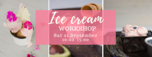 Ice cream workshop @ Wooden spoon kitchen