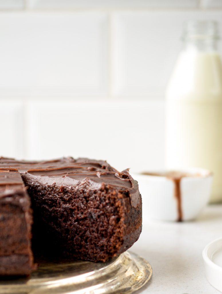 Moist Vegan Beetroot Cake