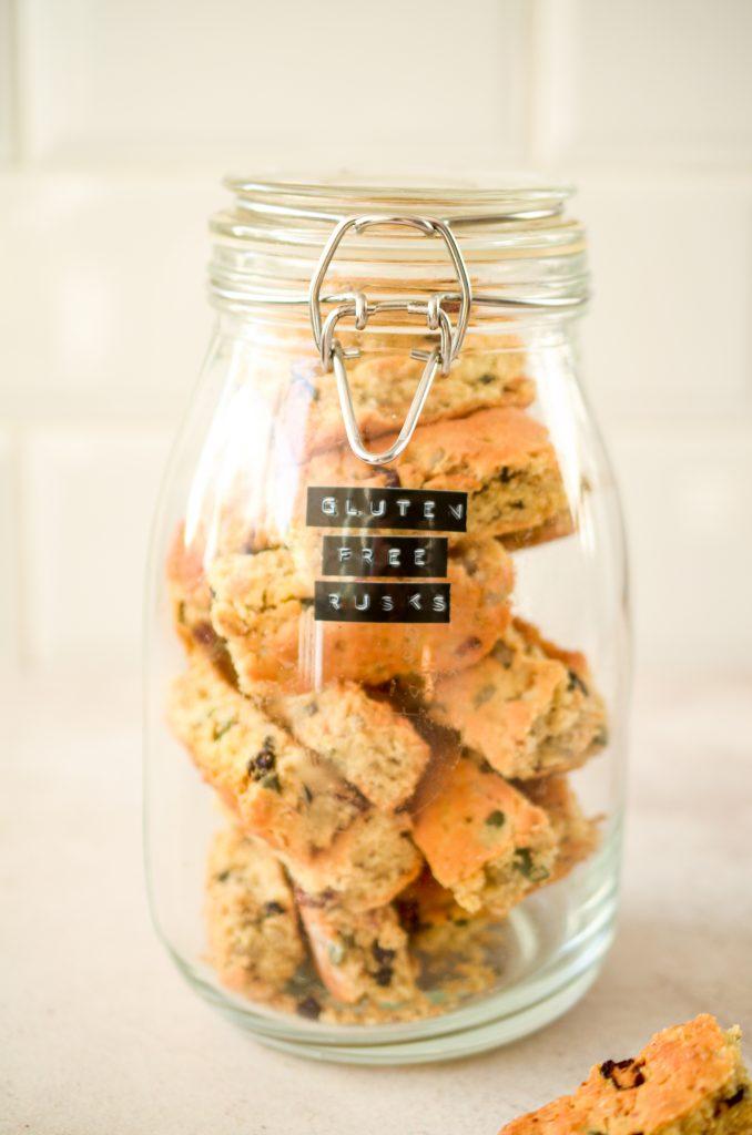 Gluten-free Muesli Rusks